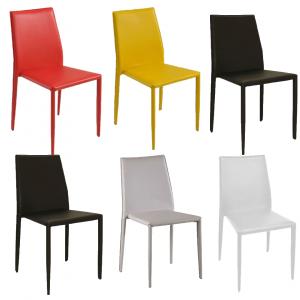 Cadeira Amanda - Couro Ecológico