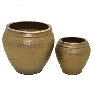 Conjunto de Vasos Rubi Dourado