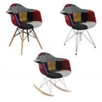Cadeira Rar Patchwork