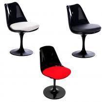 Cadeira Tulipa s/ Braço - Preto
