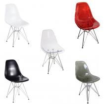 Cadeira Dar PC - Base Cromada
