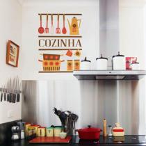 Um adesivo para decorar a cozinha com grande estilo.