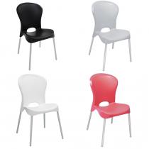 Cadeira Jolie Pernas Alumínio Anonizado - Tramontina