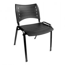 Cadeira preta modelo Padova